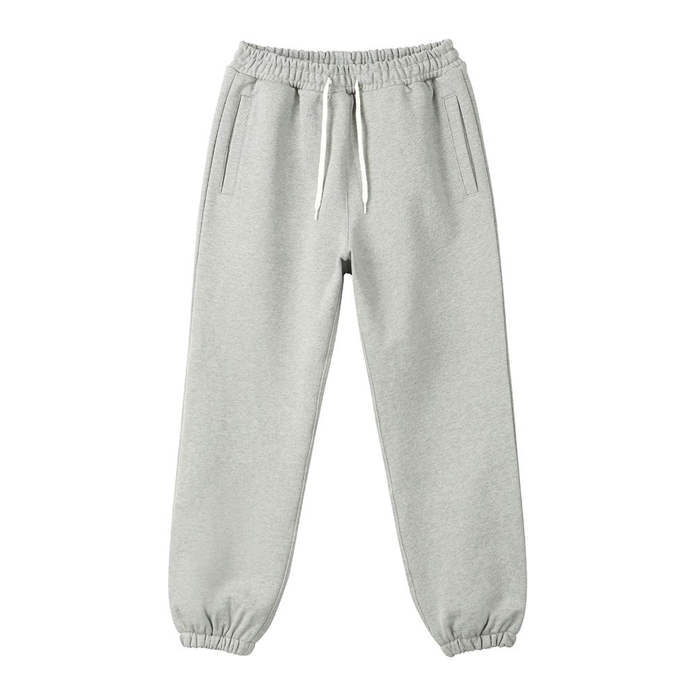 [Art if acts]  Heavy Sweat Pants Melange Grey