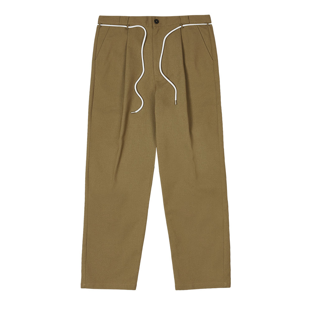 [Youngwall Junction]  Tying Pants Beige