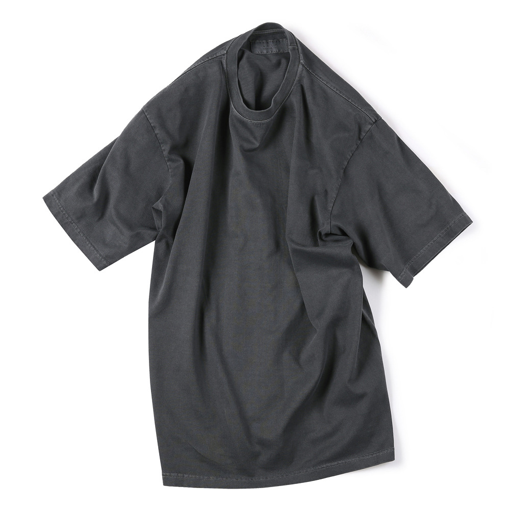 [Shirter]  Garments Dyed T-Shirts Dark Grey