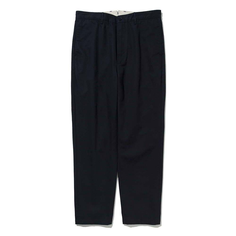 [Pottery]  Washed Tapered Pants KAYANU Cotton Vintage Chino Cloth Navy