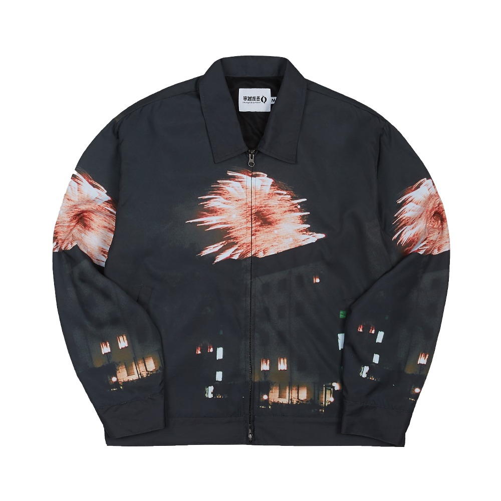 [Youngwall Junction]  Firework Jacket Black