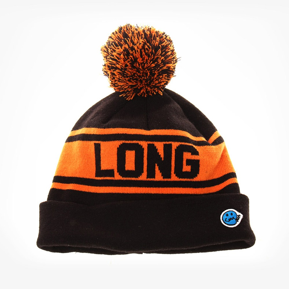 [Long Vacation]  Home Alone Kevin Beanie Black Orange