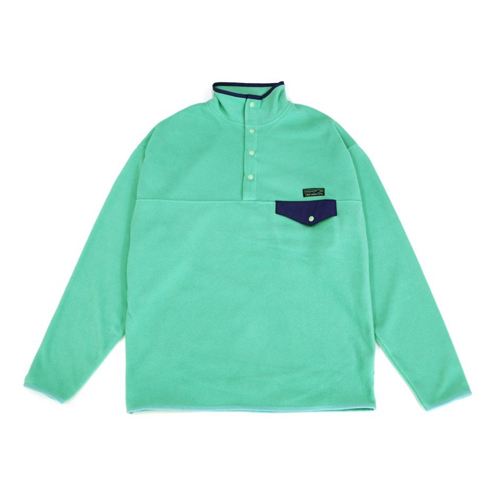 [Long Vacation]  90's Homeboy Fleece Snap-T Mint