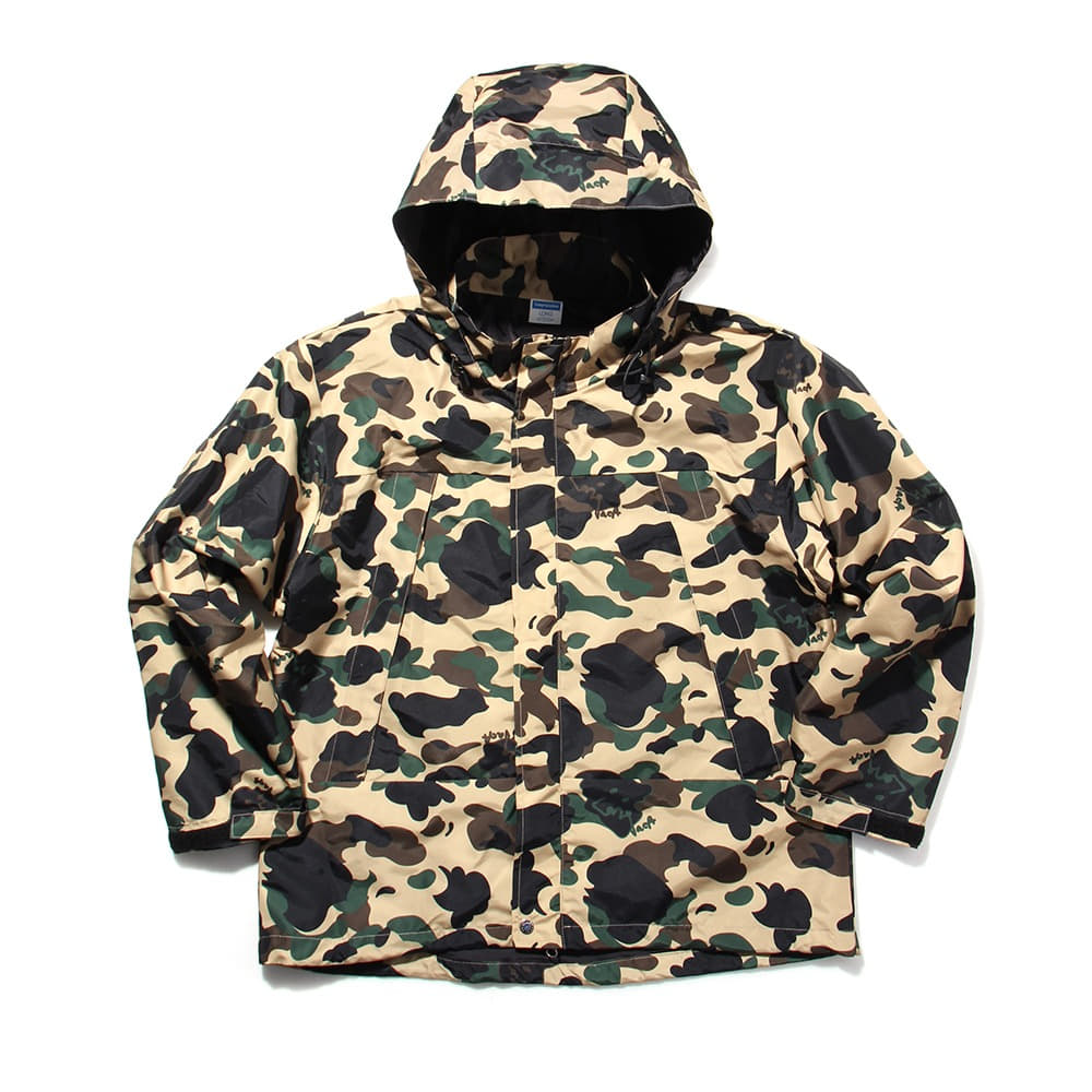 [Long Vacation]  Go Home City Camo Wind Parka Duck Hunter