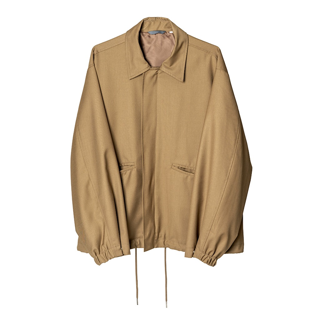 [Nought]  Over Blouson Beige