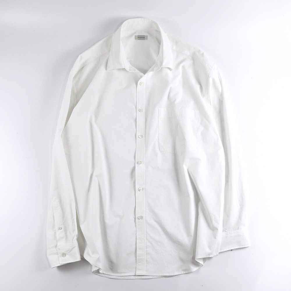 [Slick And Easy]  Lightweight Slick Shirt Off White