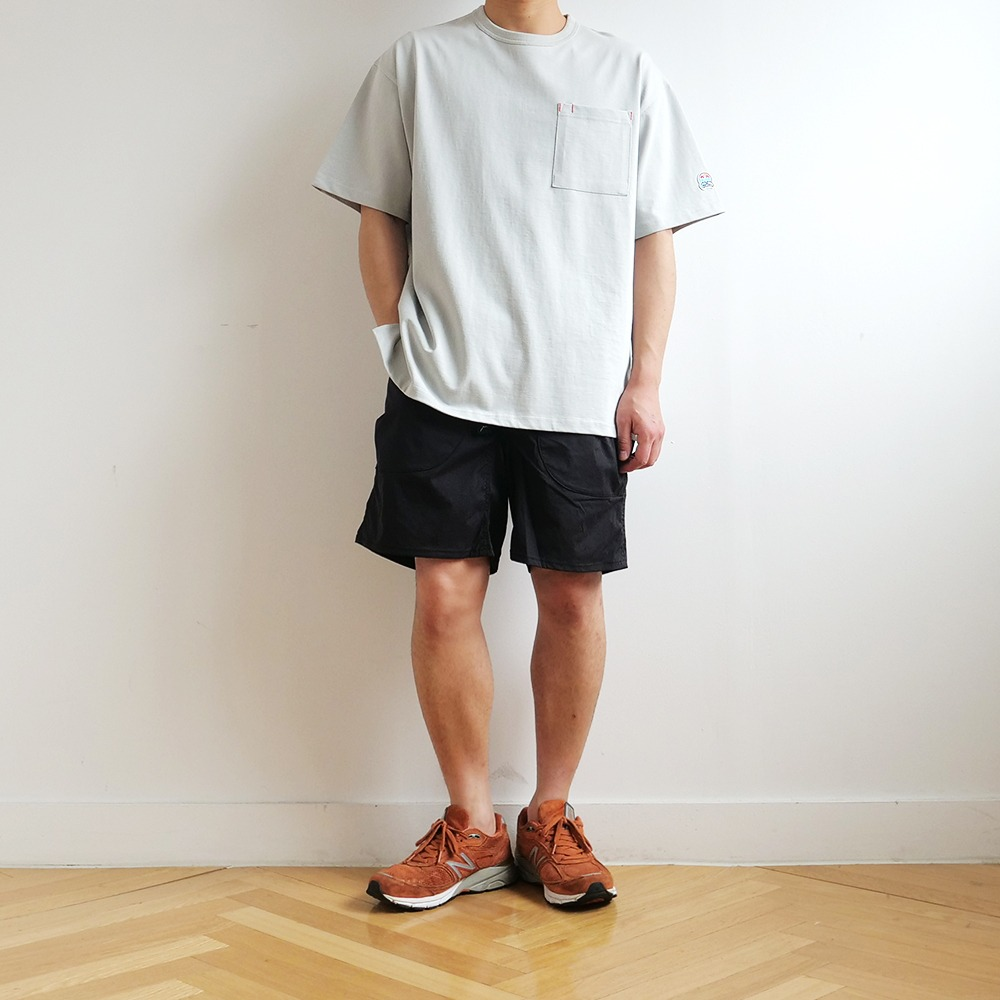 [Cayl]  8 Pocket Hiking Shorts Black