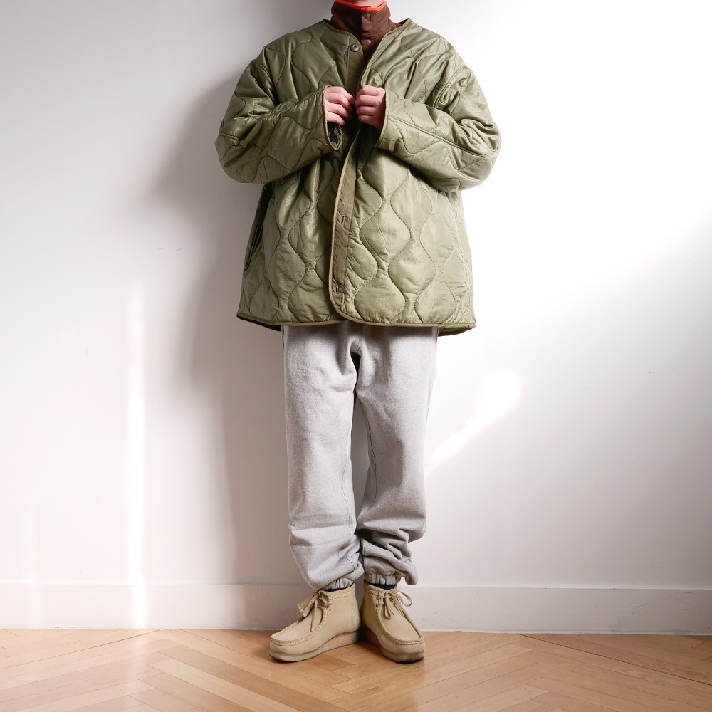 [Long Vacation]  90's Homeboy Liner jacket Olive Green