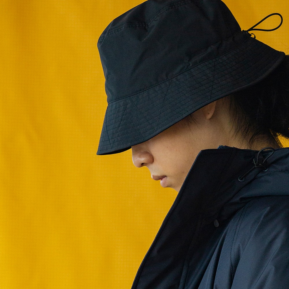 [Cayl]  Supplex Bucket Hat Black