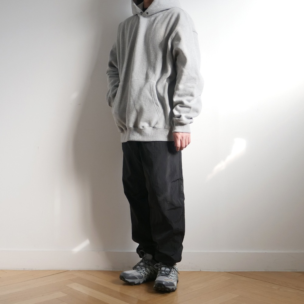 [Slick And Easy]  Mokulsha Hoodie Melange Grey