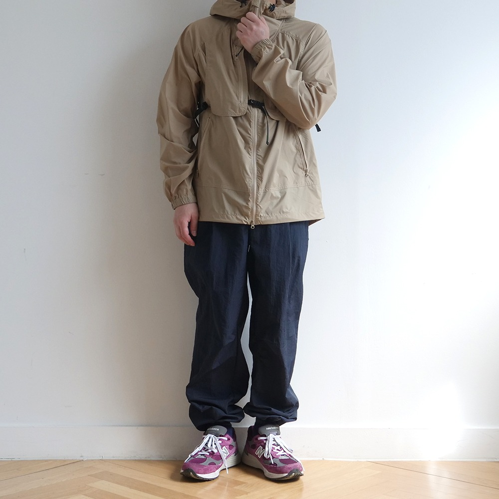 [Cayl]  Buckle Wind Jacket Beige