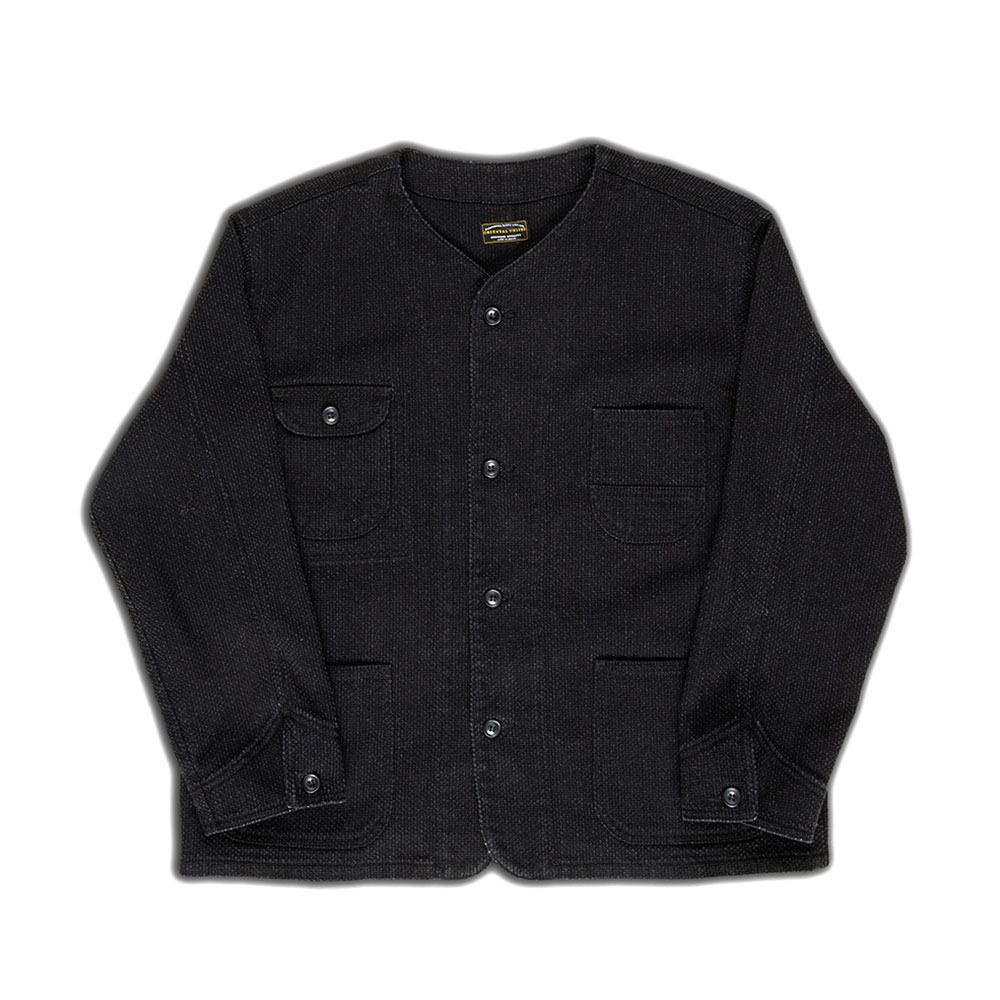 [Oriental United]  Setouchi Nami Jacket Black Sashiori