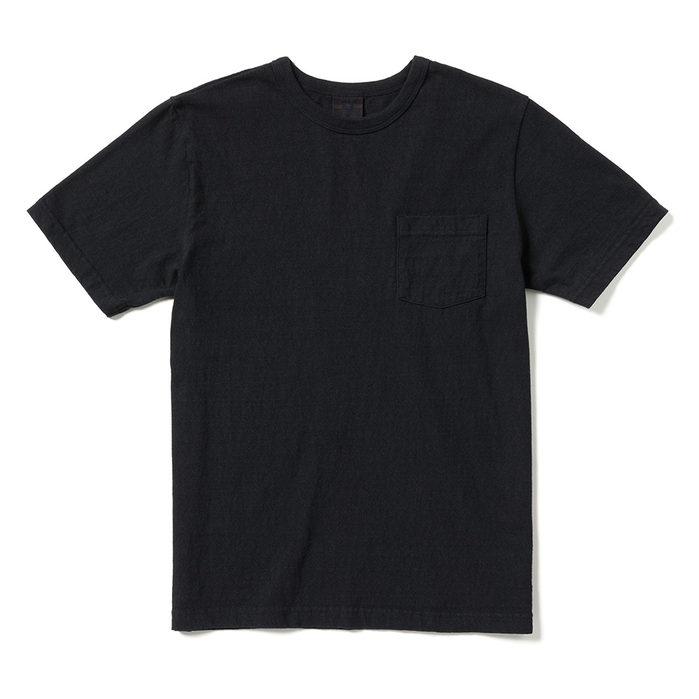 [Oriental United]  Loopwheel T-Shirt Black