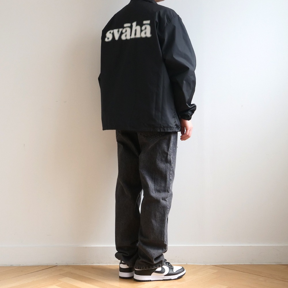 [Youngwall Junction] Svaha Coach Jacket Black