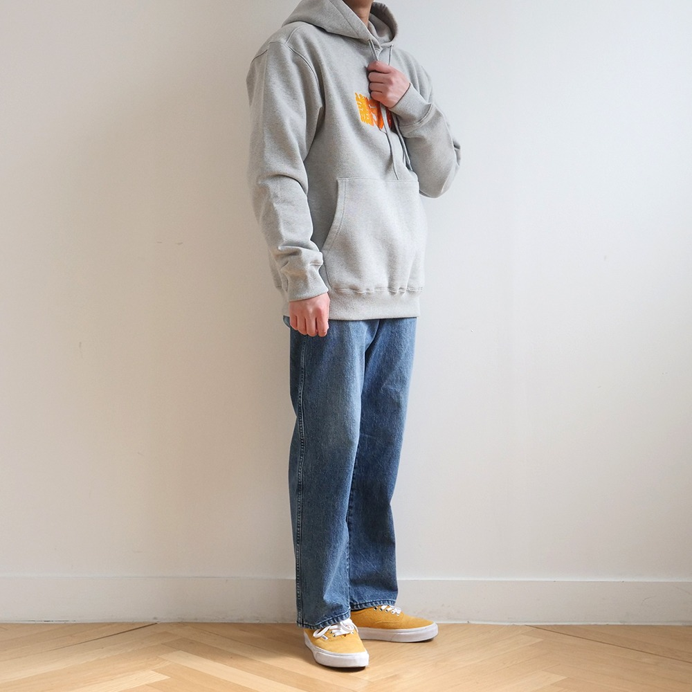 [Youngwall Junction]  Anicca Hoodie Grey 2021